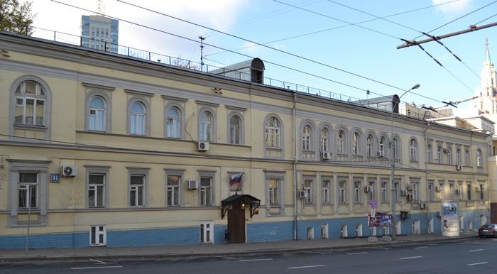 Басманный районный суд (фотография здания)