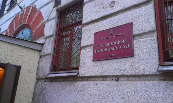 Кузьминский районный суд (здание)